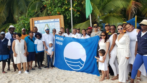 JOHNNY CAY REGIONAL PARK HAS THE FIRST HOISTED BLUE FLAG OF THE COUNTRY